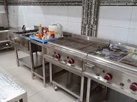 Trijaya Kitchen Peralatan Stainless Dapur Restoran Harga Bersaing Exhaust Hood Sink