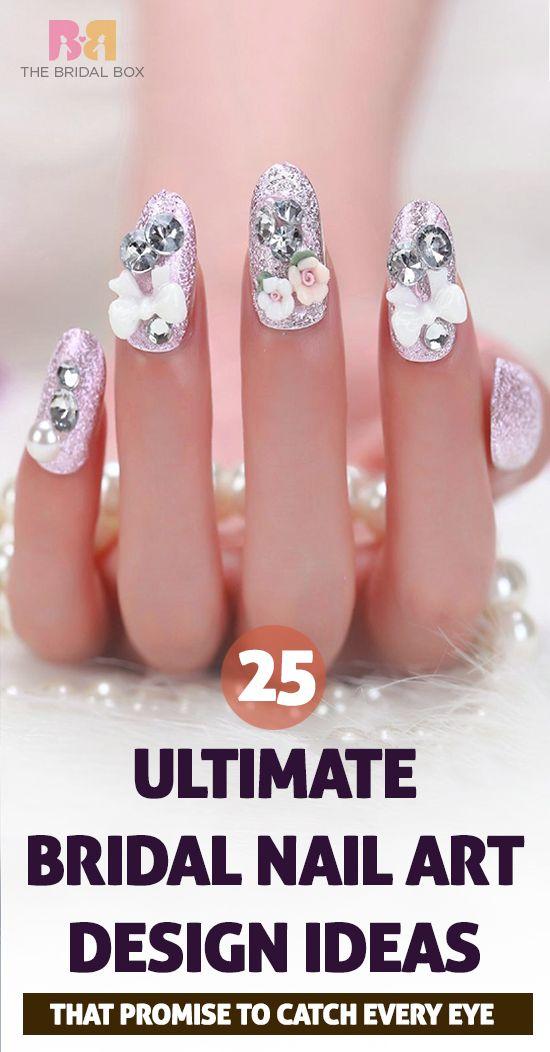 33 Bridal Nail Art Designs Ideas Tips And Diy Videos We Love Wedding