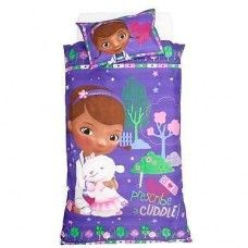 Disney Doc McStuffins Single Bed Quilt Cover Set