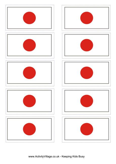 Japan Flag Printable Japan Flag Flag Printable Flag Coloring Pages