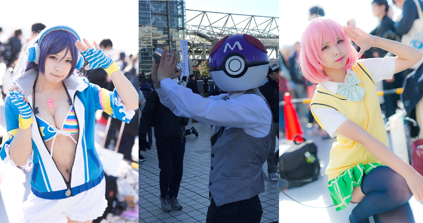 Cosplay Craziness concludes with 3rd and final day of Comiket 91 - http://sgcafe.com/2017/01/cosplay-craziness-concludes-3rd-final-day-comiket-91/
