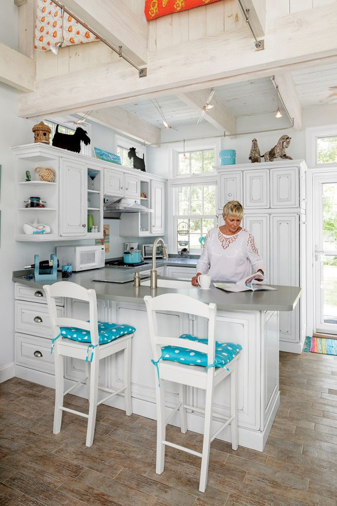 6 Maine Tiny Homes With Lots Of Character Tiny House Kitchen Tiny Kitchen Design House Design Kitchen