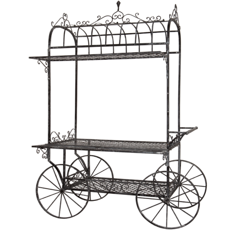 french flower cart Google Search Metal flowers, French