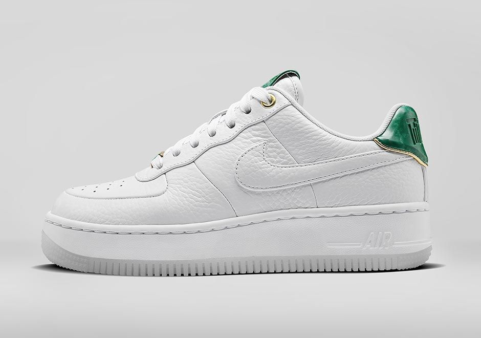 Nike Sportswear is ready to celebrate Chinese New Year with two distinct  styles of the Air Force 1 that tie in Jade stone elements.