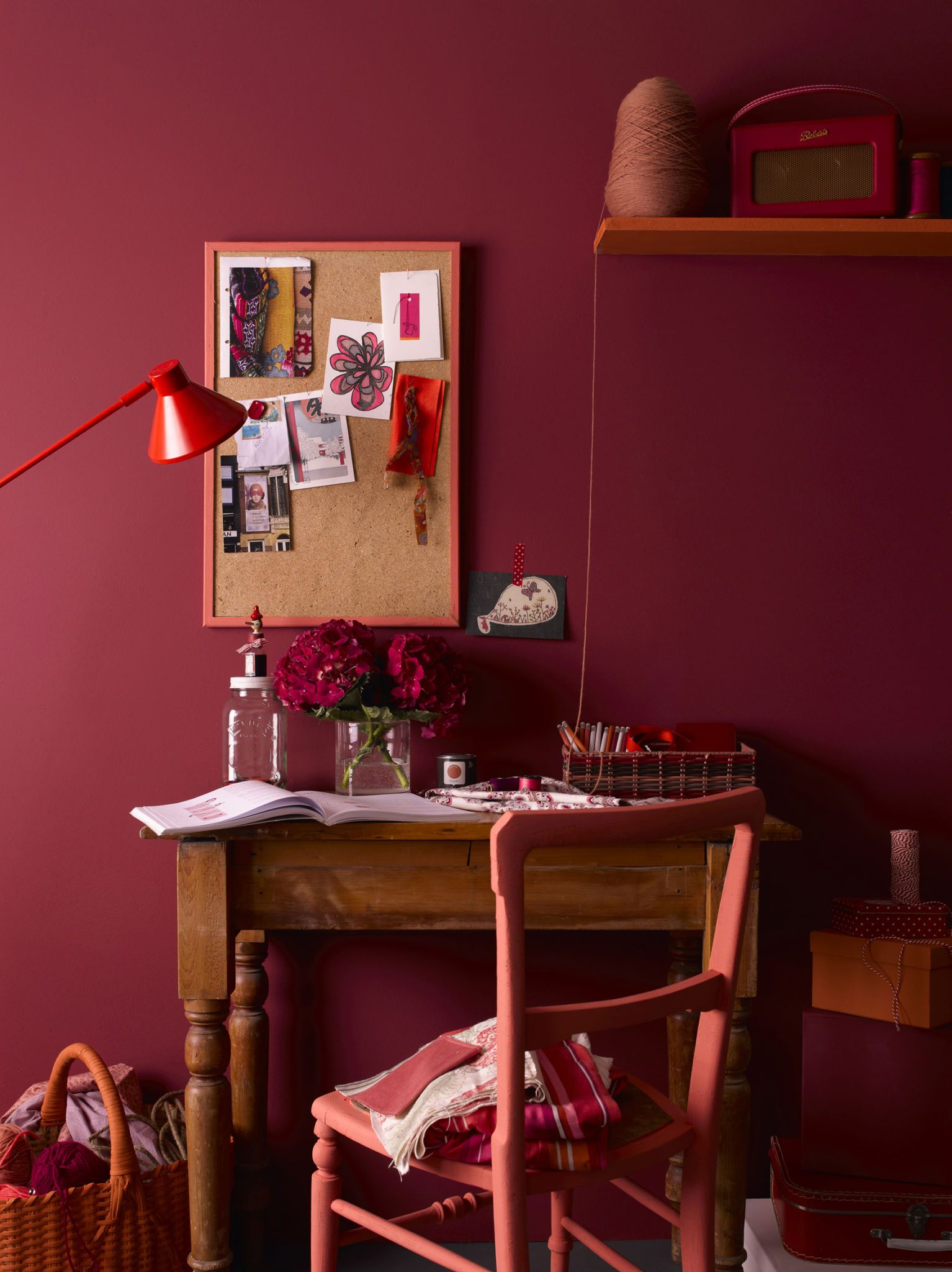 Revealing Our Most Popular Paint Colours From 2016 And Our Key Colours For 2017 Red Paint Colors
