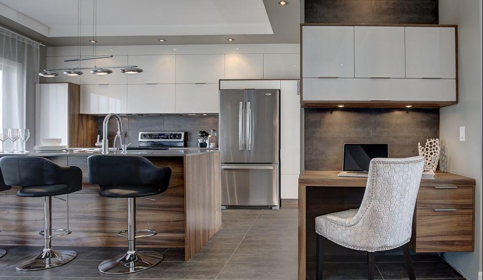 Kamale collection contemporaine cuisines gonthier cuisines et salles de bains - Gonthier cuisine et salle de bain ...