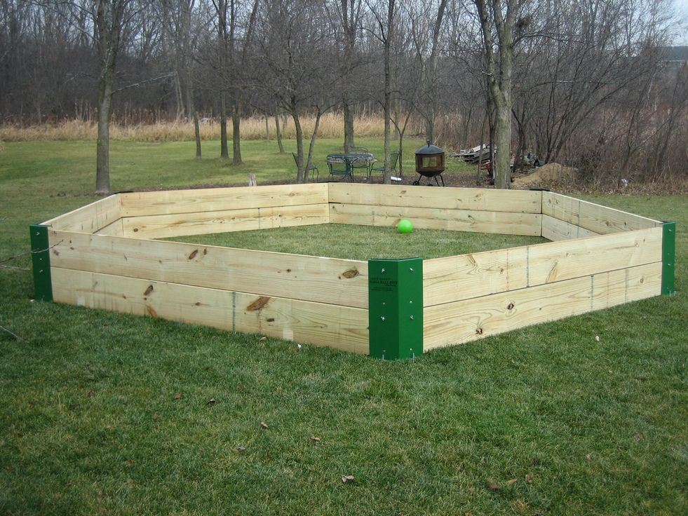 Lumber for GaGa pit...oh yeah! 2012 Update: We built and used a ...