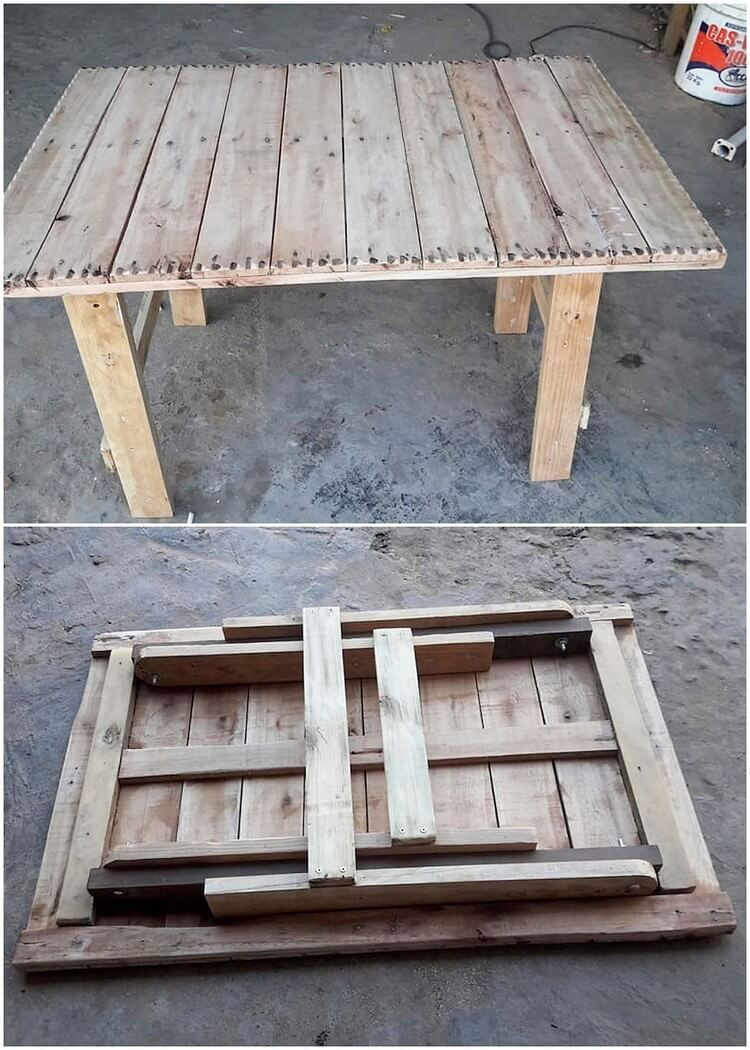 Innovative Ideas To Utilize Wood Pallets With Amazing Techniques