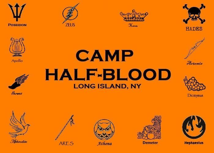 Percy Jackson Camp Half Blood Stencil Man That Started It All Rick