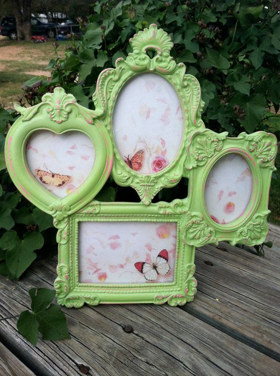 Victorian Picture Frame Collage/ Small Picture Frame Cluster ...