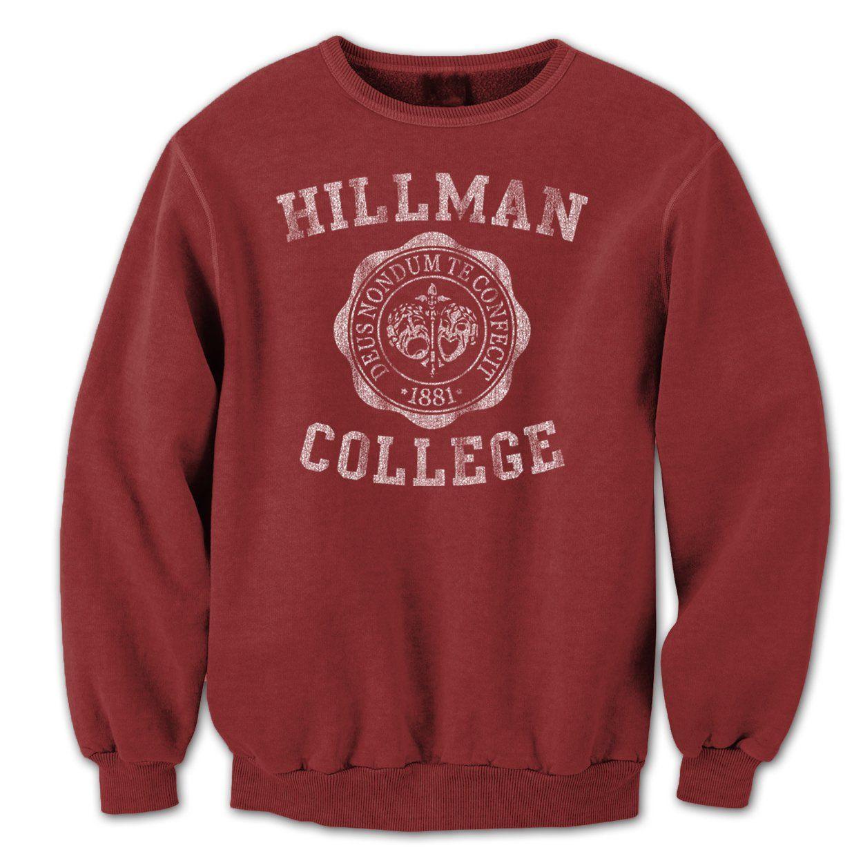 Amazon Com Hillman College Emblem Mens Sweatshirt Clothing Sweatshirts Crew Neck Sweatshirt Mens Sweatshirts [ 1250 x 1250 Pixel ]