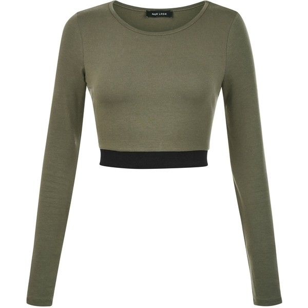 top Olive Green Blouse tee tshirt