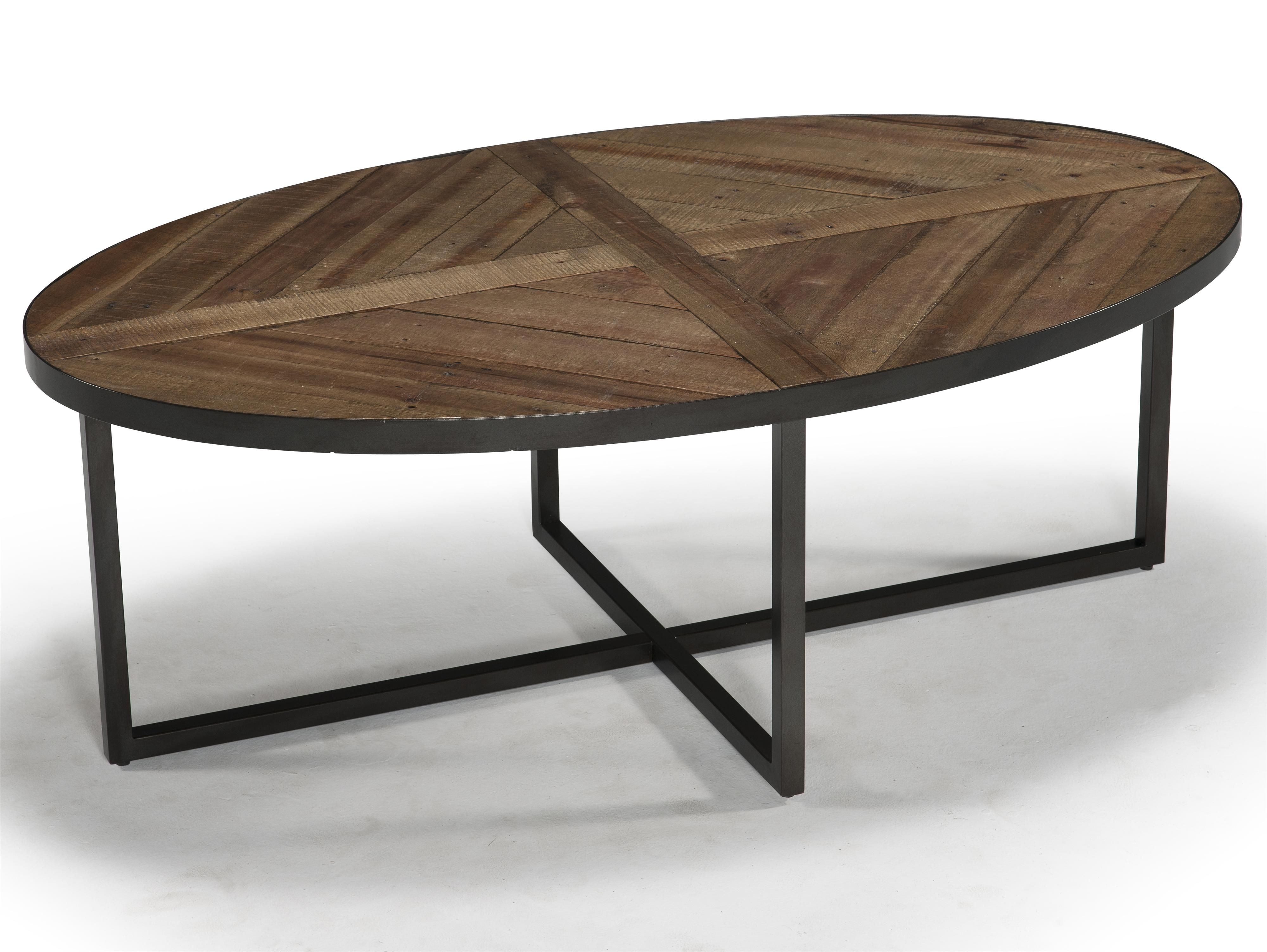 Lakeside Oval Cocktail Table By Magnussen Home Living