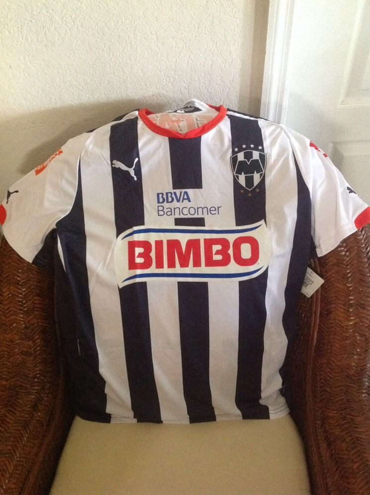 Mexico RAYADOS de Monterey puma soccer/futbol Jersey NWT