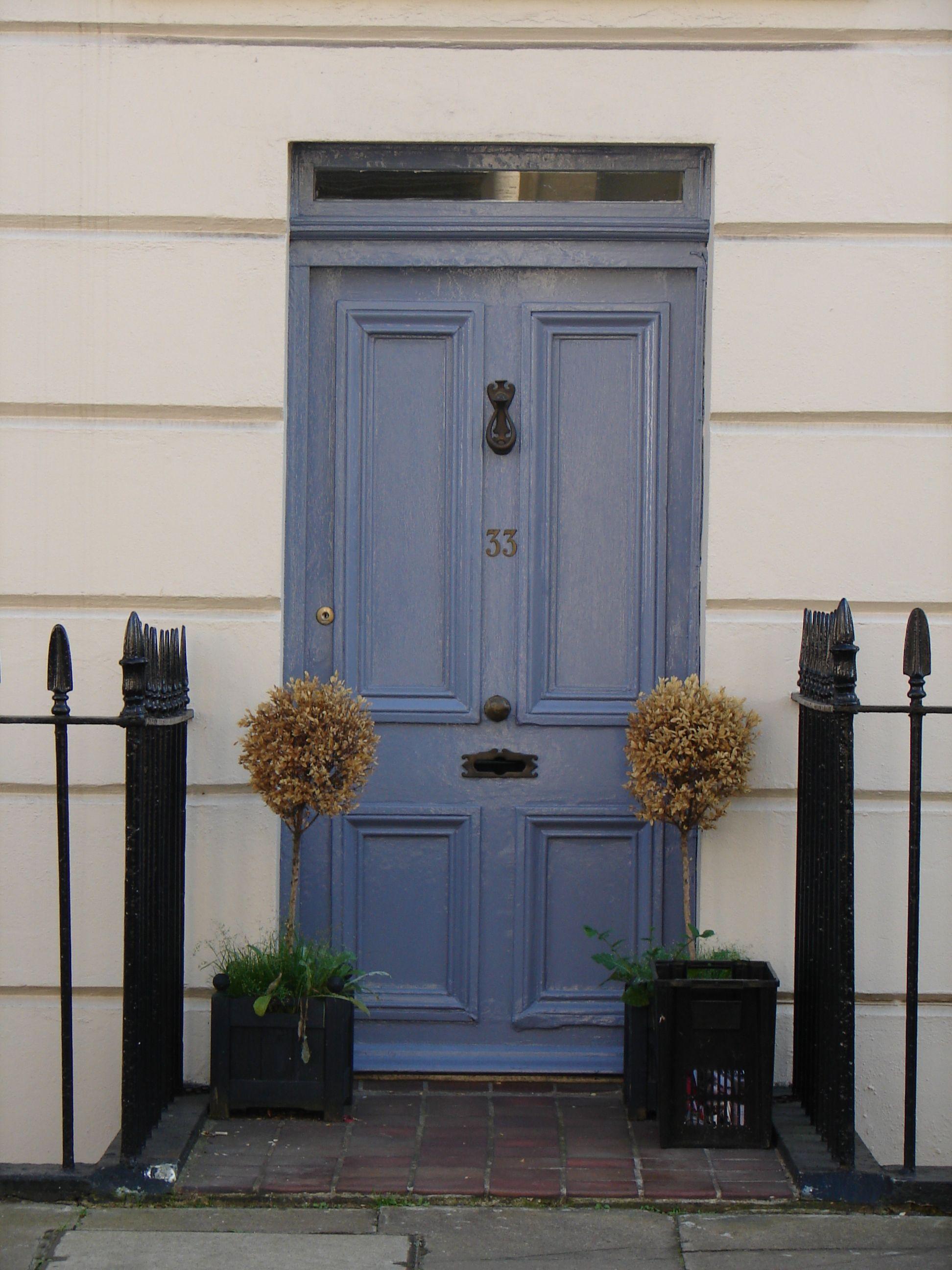 Smart front door in Pimlico London     Doors and Windows ...