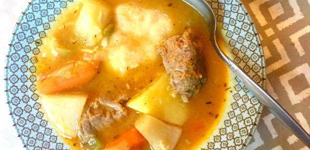 jamaican beef soup recipe  cook like a jamaican  beef