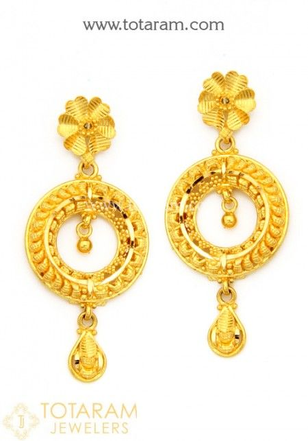 Gold drop earrings gold chandelier earrings indian style and gold drop earrings mozeypictures Image collections