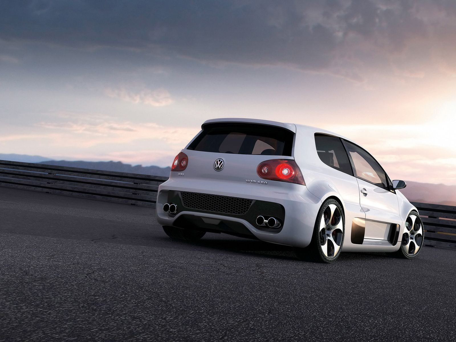 Volkswagen Golf GTI 650 Widescreen Exotic Car Picture Of