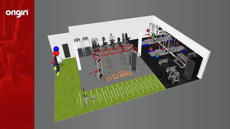 Gym fitness exercise equipment equipment exercise