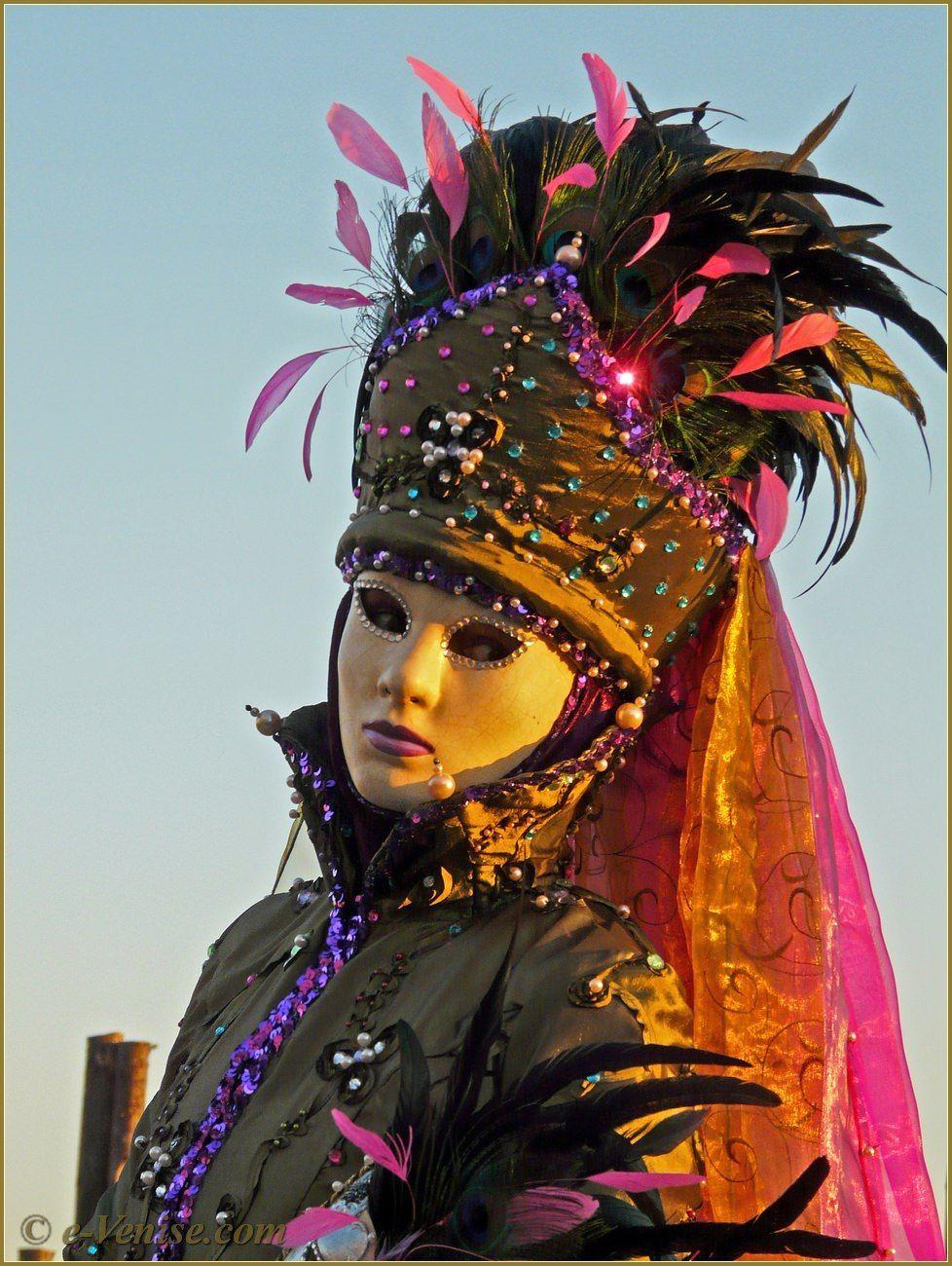 Photos Carnaval Venise 2008 Masques et Costumes Page 3