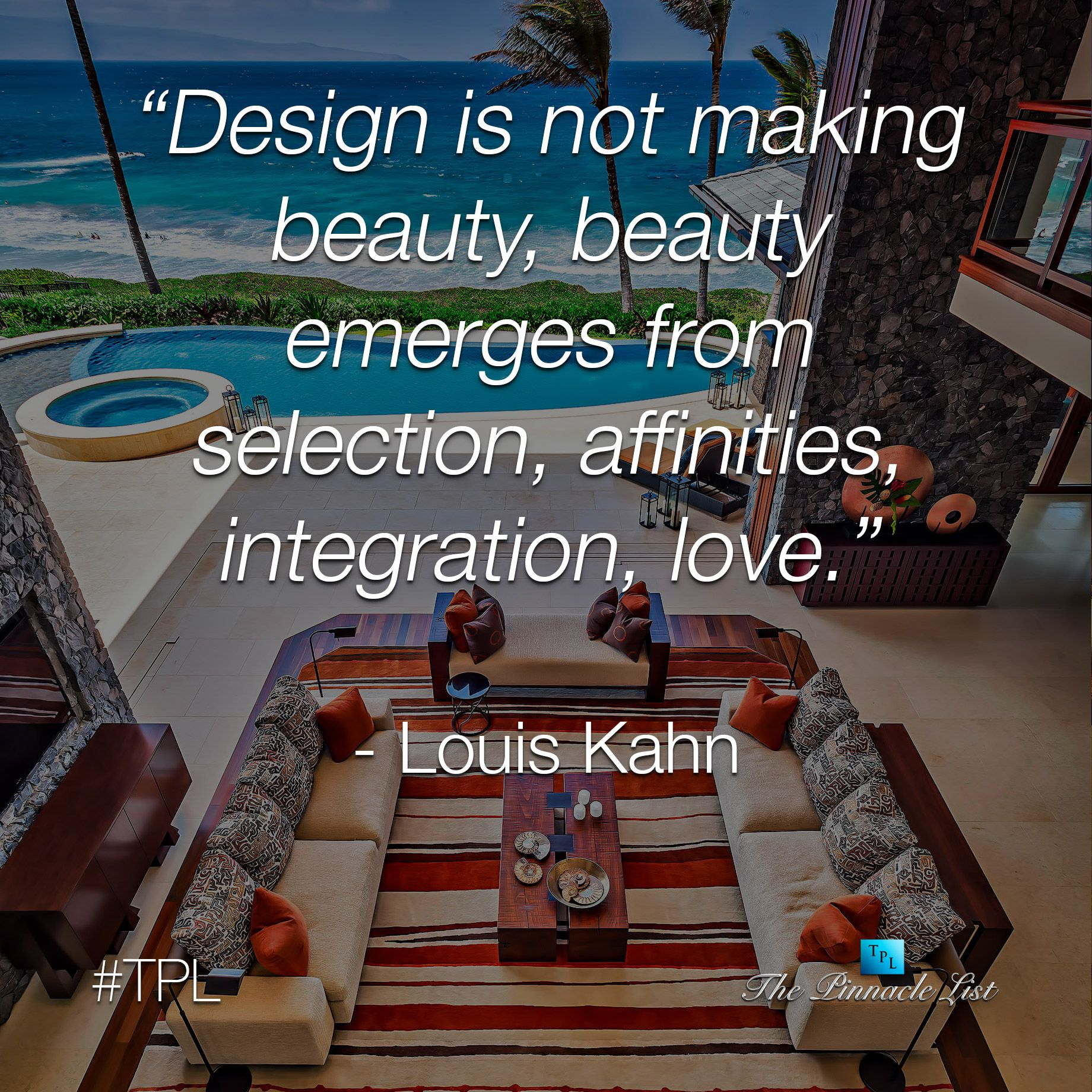 The Integration of Natural Beauty to Design Beauty with Love ➤ http://thepl.me/1pxcc4B