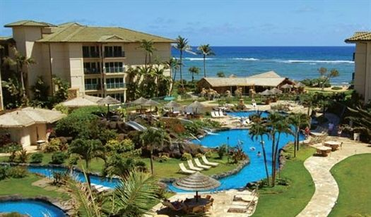 Outrigger Waipouli Ocean Resort In Kauai Hawaii The Best Condo Centrally Located