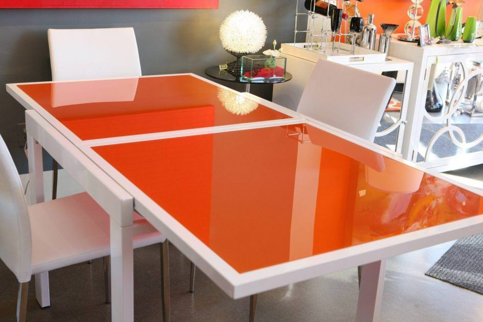 Furniture Low Cost Modern Expandable Glass Dining Table ...