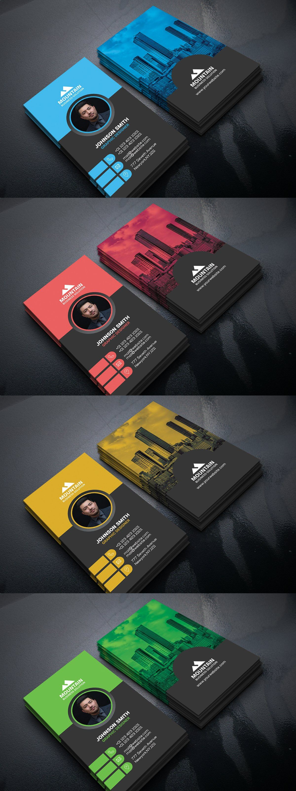 Factory Industrial Business Card Construction Business Cards Business Card Design Company Business Cards