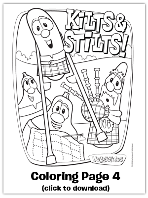 Free coloring sheet printable from MacLarry and the Stinky