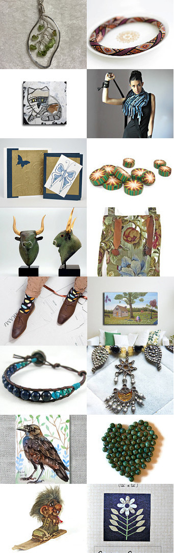 The Warmth of Earth Tones by Peggy on Etsy--Pinned with TreasuryPin.com