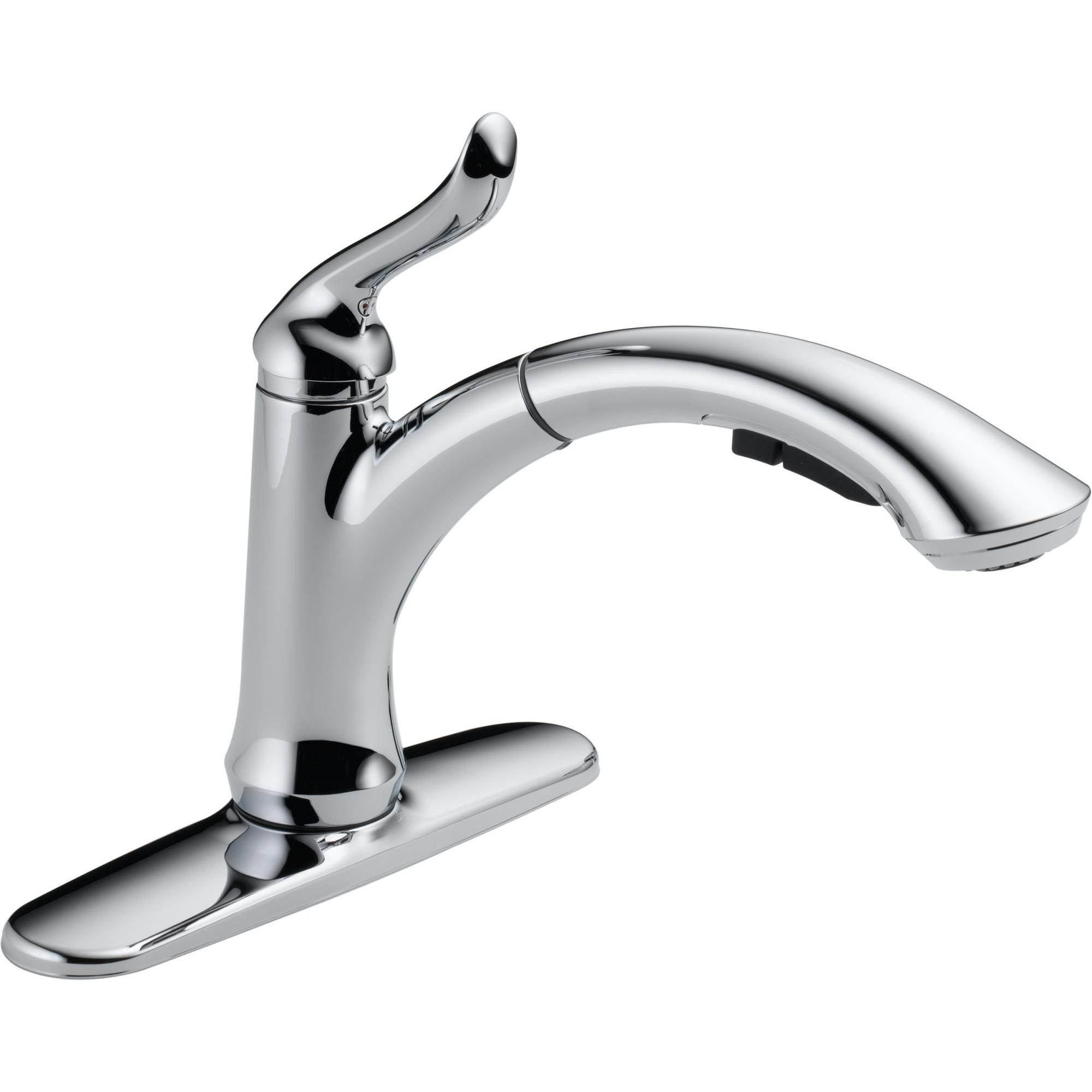 Delta Faucet 4353 Dst Linden Pull Out Kitchen Faucet With