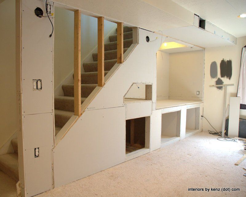 Building A Nook Under The Stairs Design Ideas Basement