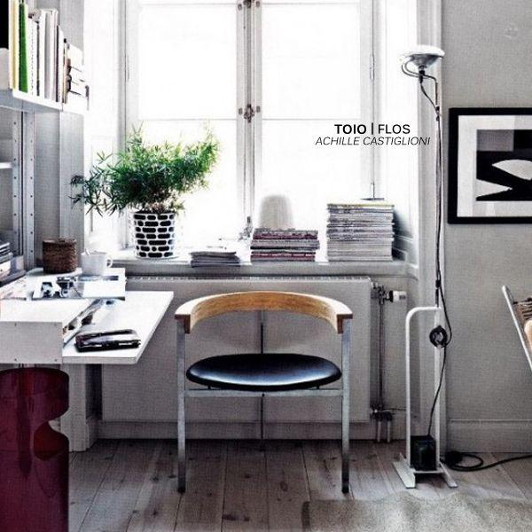 Toio floor lamp designed by achille castiglioni produced by toio floor lamp designed by achille castiglioni produced by flos aloadofball Gallery