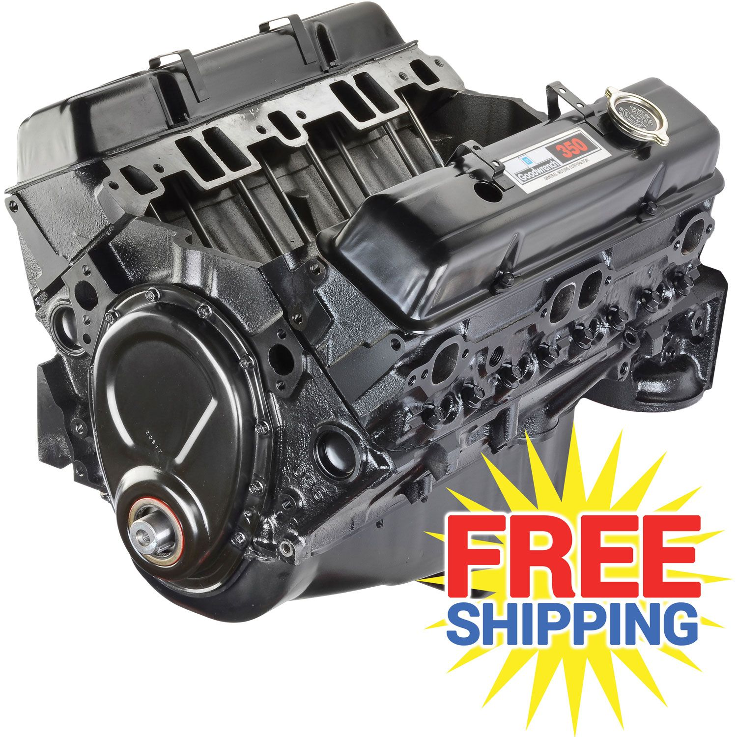 Chevrolet Performance 12681429 Gm Goodwrench 350ci Crate Engine