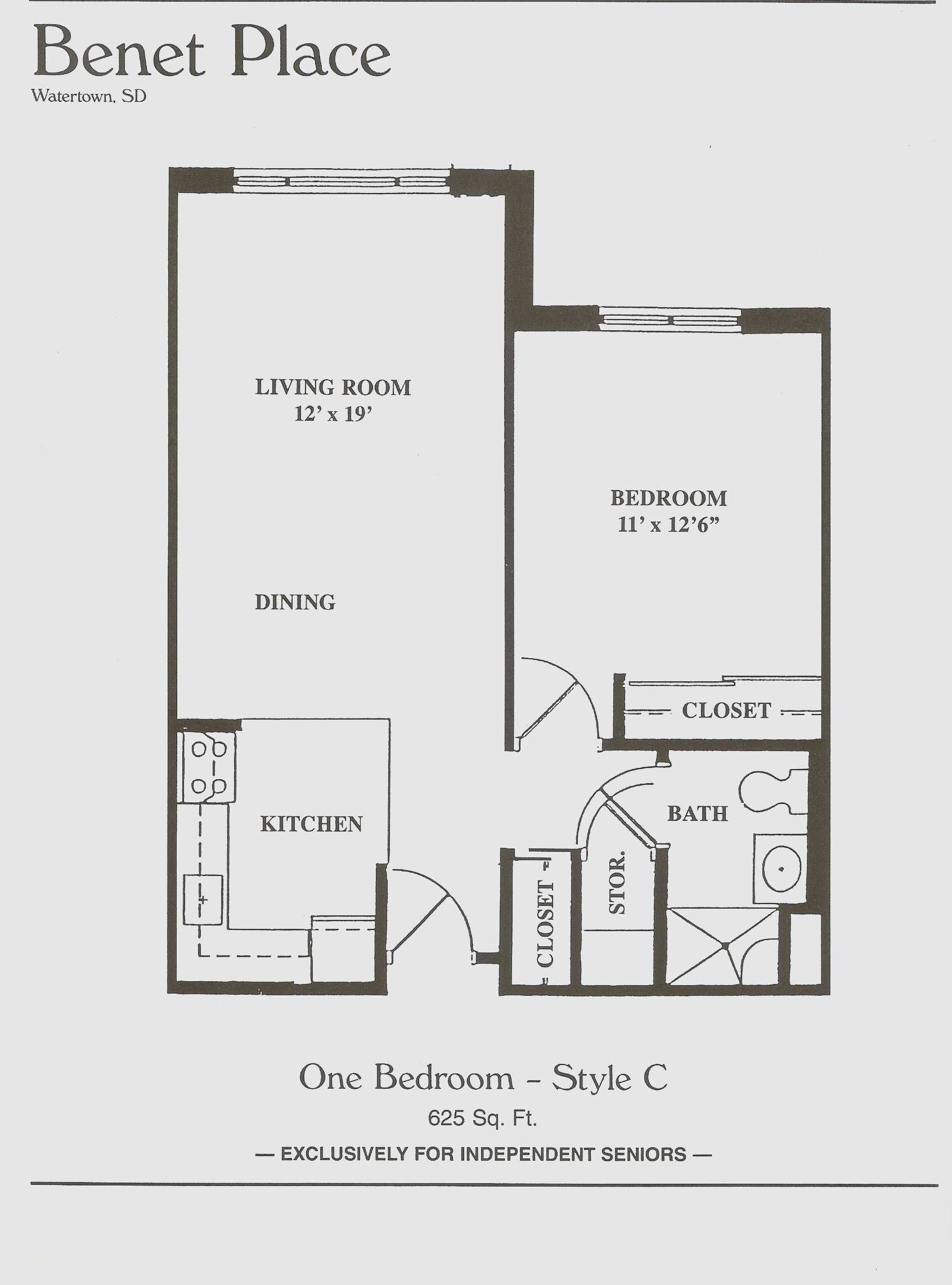 Inspirational 1 Bedroom Apartment Design Plans