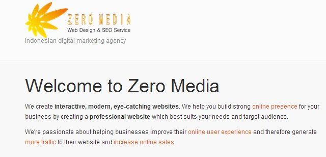http://www.zeromedia.co.id the best seo service in the world, we will boost your site to top one google