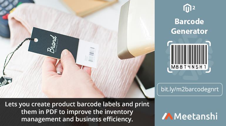 Magento 2 Barcode Generator In 2020 Barcode Generator Barcode Labels Magento