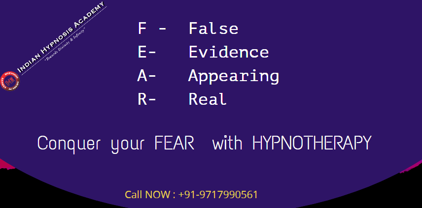 Fear is response to physical and emotional danger : — if we