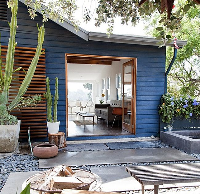 Colorful Outdoor Rooms: How To Choose An Exterior Paint Color