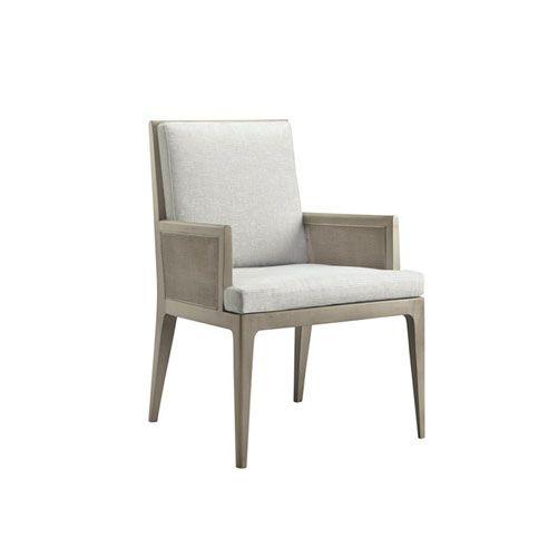 BAKER Carmel Cane Dining Arm Chair