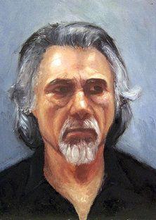 Protrait paintings of Leslie Margolis - The Pianist