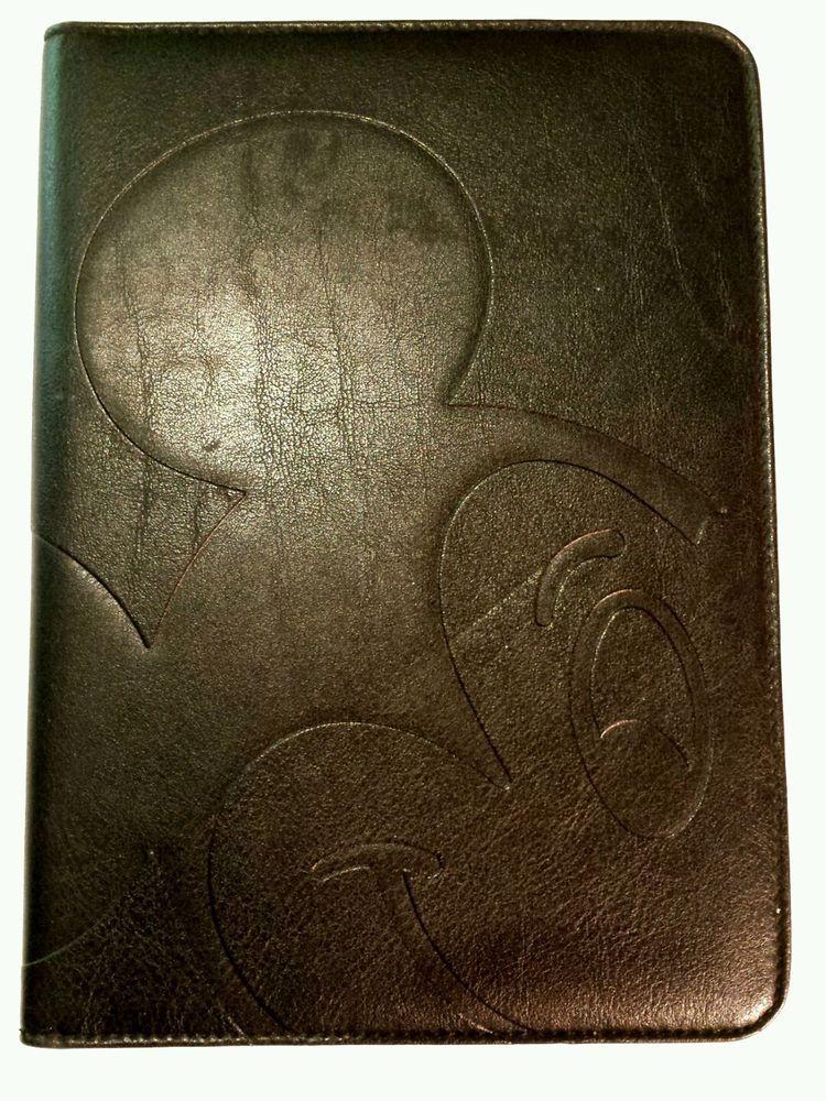 Disney Mickey Mouse Mini Leather Portfolio Planner