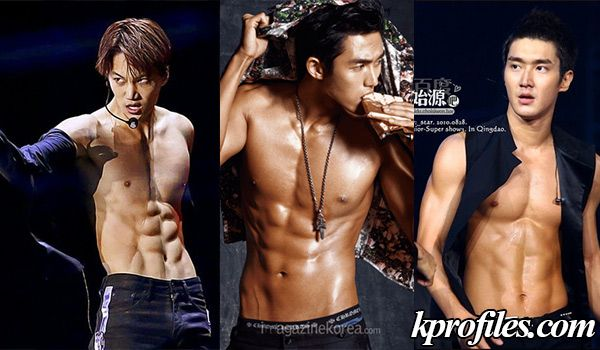Who S The Kpop Idol With The Best Abs Abs Best Abs Tvxq