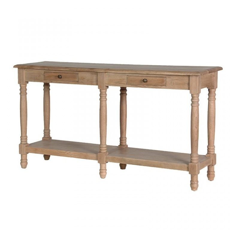 Weathered Oak Hall Console Hall Console Table Console Furniture