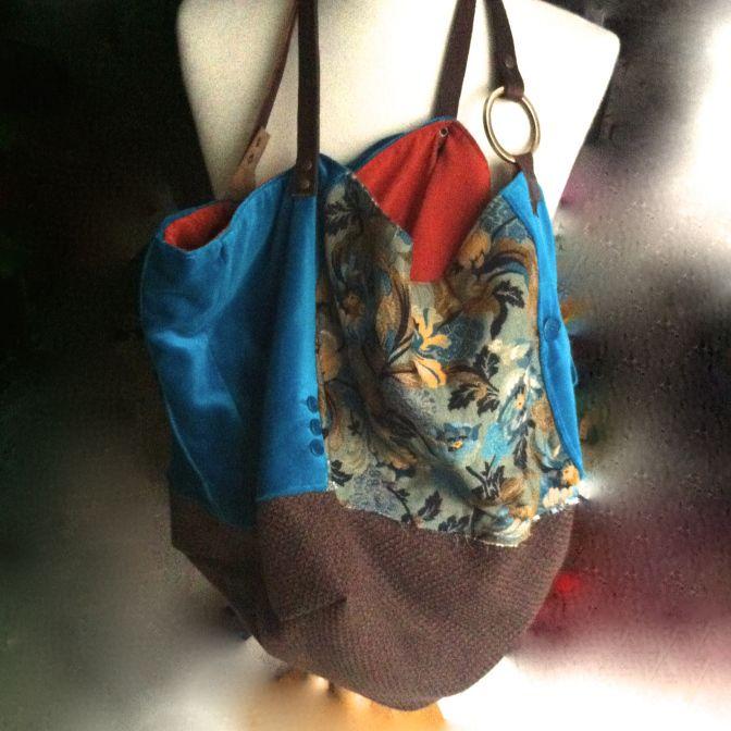 comprare popolare 8912d 45e1e La giacca di velluto, #borsa di tessuto di #Tekoa Milano ...