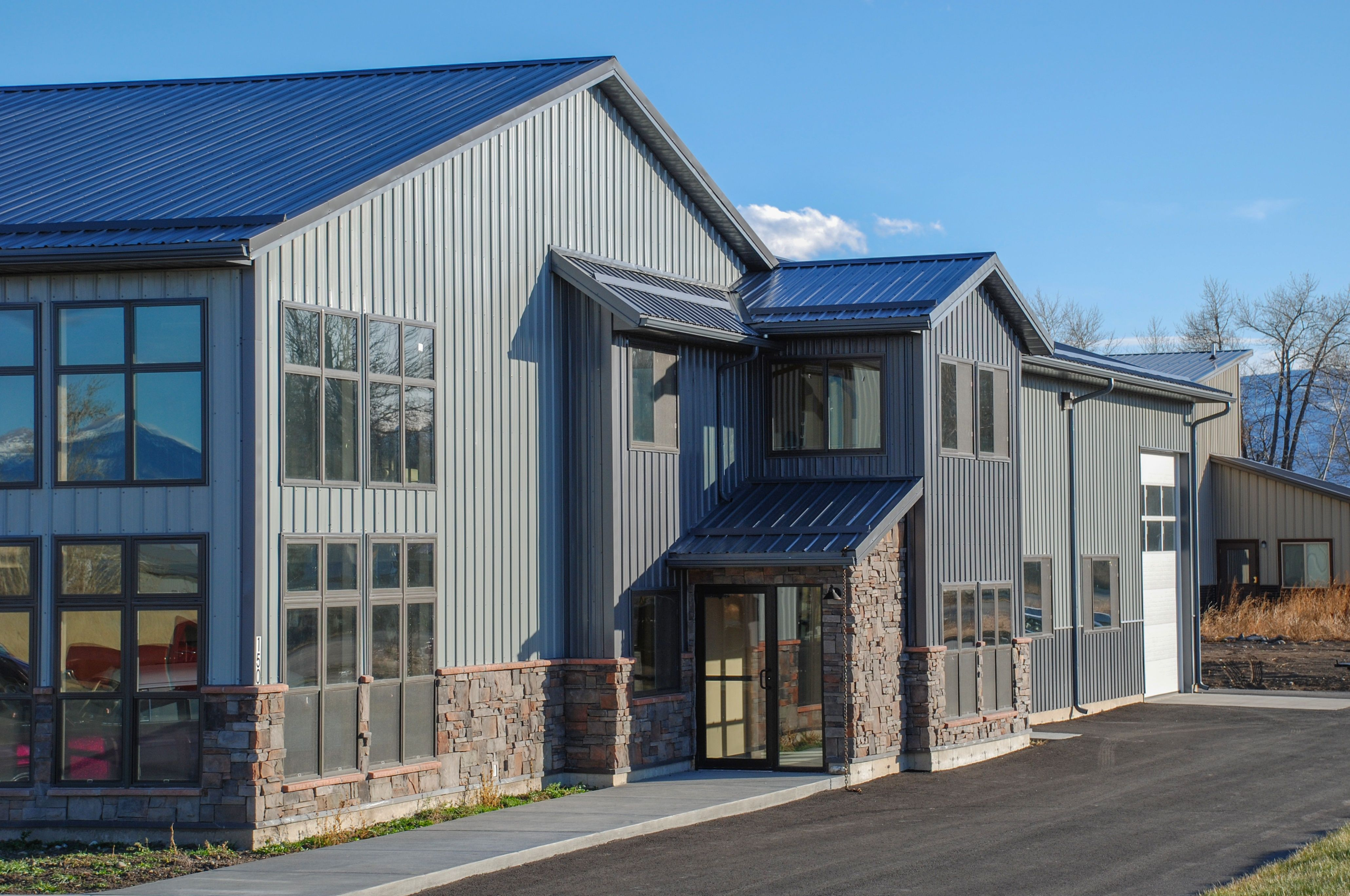 Tuf Rib Roof And Siding Metal Roof House Styles Interior Projects