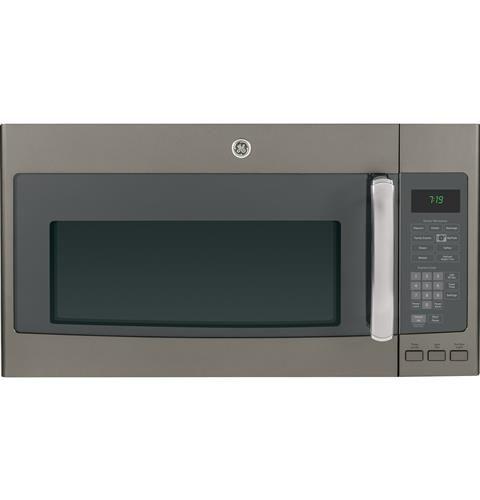 Jvm7195efes Ge 1 9 Cu Ft Over The Range Sensor Microwave Oven Ge Appliances Over The Range Microwaves Ge Slate Appliances Microwave