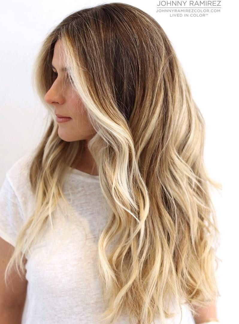 24 best hair colors for spring summer season 2017 for Balayage braun blond
