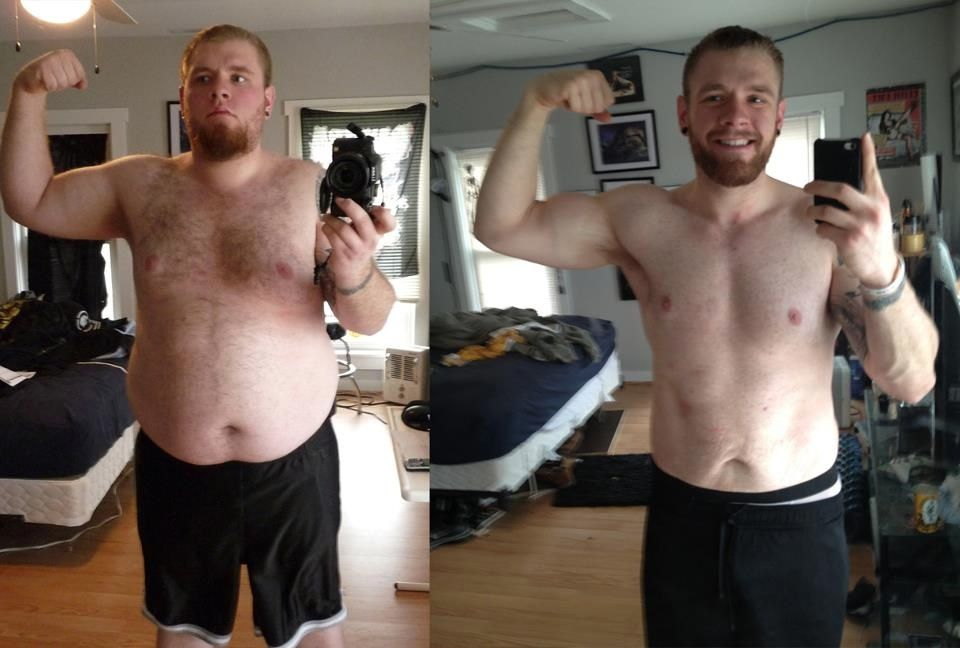 Now those are some before and after weight loss results