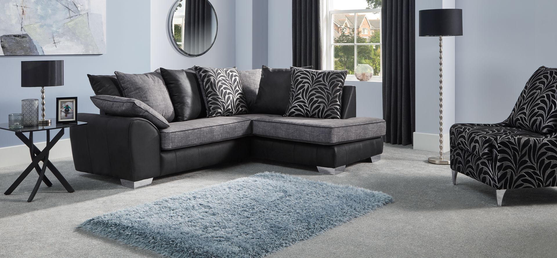Lydia 2 Corner 1 Rhf Chaise Scatter Back Scs Corner Couch Chaise New Homes